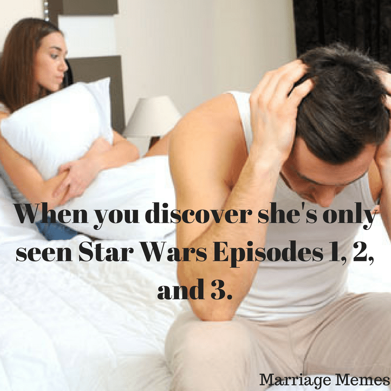 marriage memes about movies