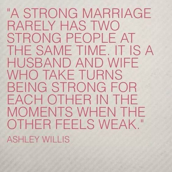 A strong marriage meme