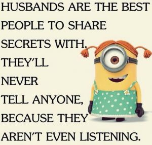 Husband never listens meme