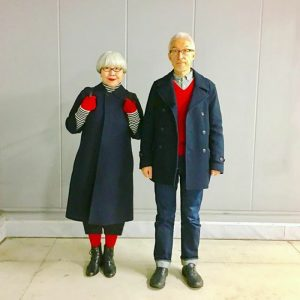 Couple Dresses the same for 30 years