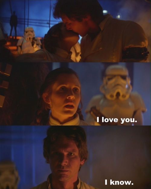 I love you meme from star wars