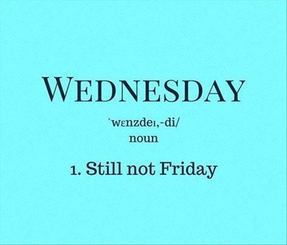 Wednesday Definition Meme