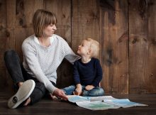 child and mother showing how different parenting styles influence kids